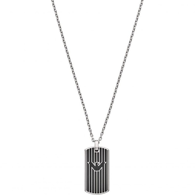 Emporio Armani Dizajnový pánsky náhrdelník EGS2724040