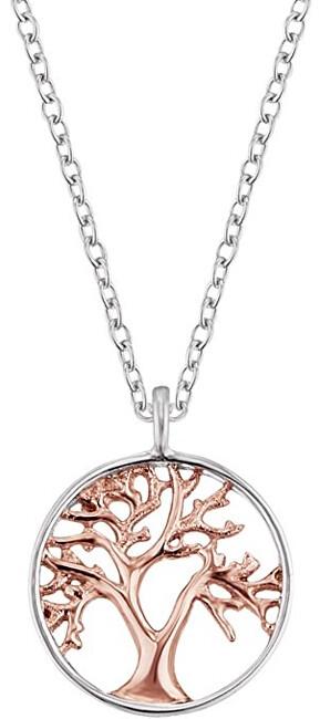 Engelsrufer Stříbrný bicolor náhrdelník Strom života ERN-LILTREE-BI
