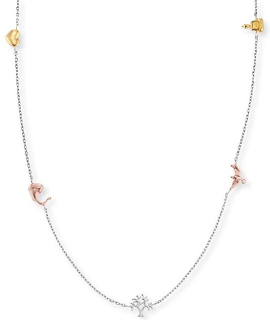 Engelsrufer Stříbrný tricolor náhrdelník Strom života ERN-LILTREE-TRI