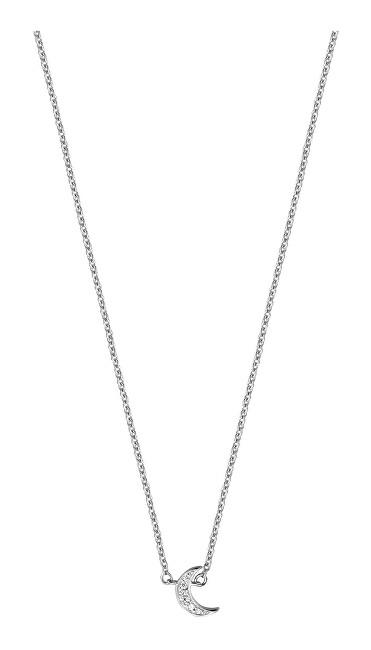 Esprit Strieborný náhrdelník s polmesiacom ESNL00921142