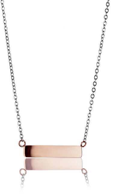 Emily Westwood Ocelový náhrdelník WN1012RS