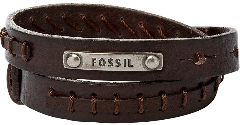 Fossil Pánsky kožený náramok JF87354040