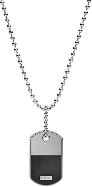 Fossil Pánsky náhrdelník so známkou JF03312040 (náhrdelník, prívesok)