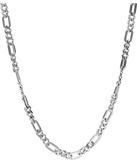 Fossil Pánsky oceľový náhrdelník JF03175040
