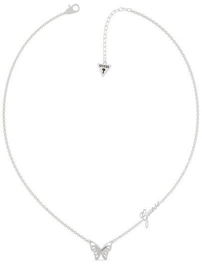 Guess Dizajnový oceľový náhrdelník UBN70196