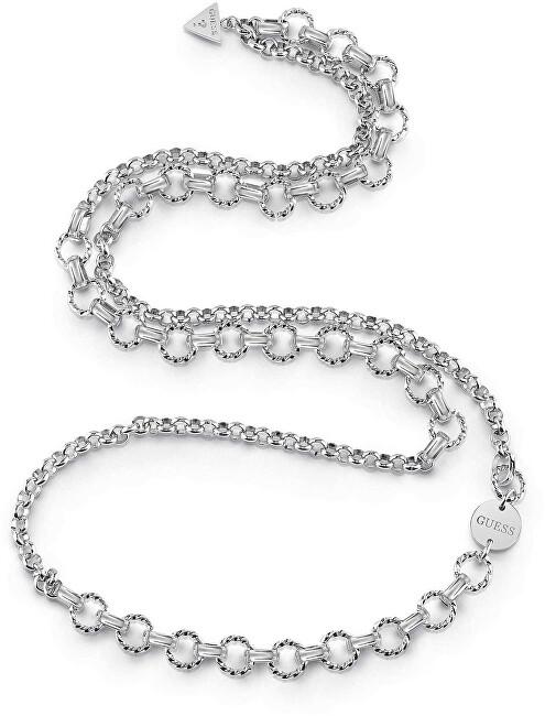 Guess Dlhý oceľový náhrdelník UBN29042