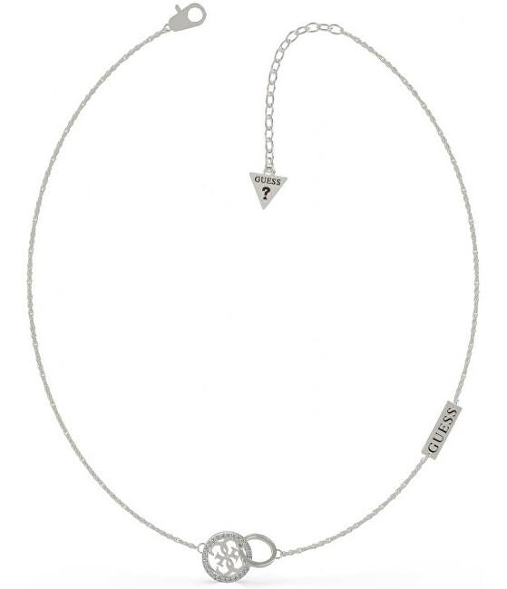 Guess Luxusné oceľový náhrdelník UBN79045