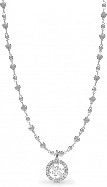 Guess Módne oceľový náhrdelník UBN78015
