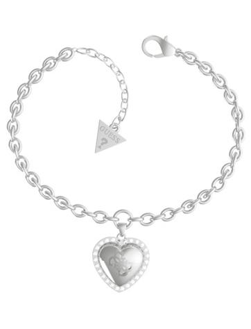 Guess Romantický ocelový náramek That`s Amore JUBB01077JWRHS-S