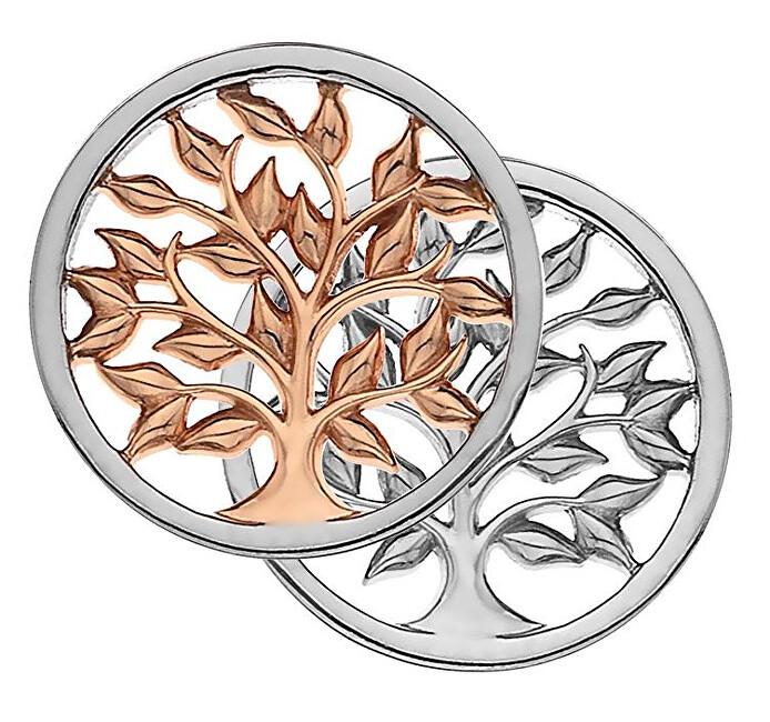 Hot Diamonds Bicolor prívesok Emozioni Balance and Harmony RG Coin EC478-EC479 33 mm