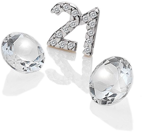 """Hot Diamonds Element """"21"""" se zirkony a topazy EX210"""