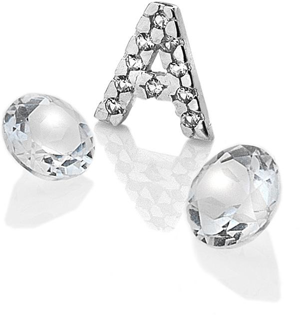 """Hot Diamonds Element písmeno """"A"""" s topazy Anais EX220"""