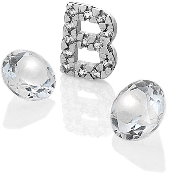 "Hot Diamonds Element písmeno ""B"" s topazy Anais EX221"