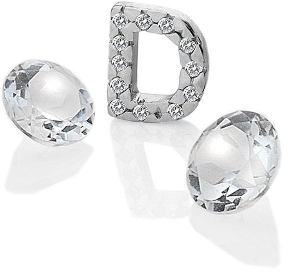 """Hot Diamonds Element písmeno """"D"""" s topazy Anais EX223"""