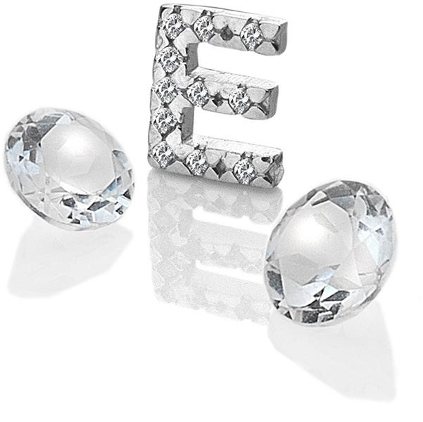 """Hot Diamonds Element písmeno """"E"""" s topazy Anais EX224"""
