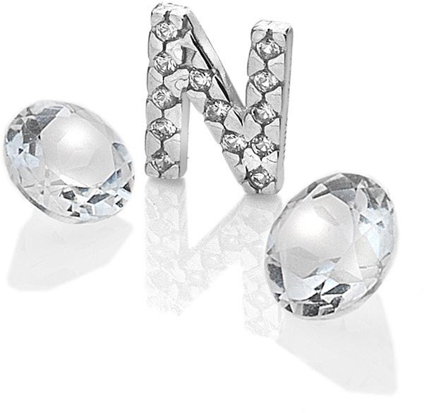 "Hot Diamonds Element písmeno ""N"" s topazy Anais EX233"