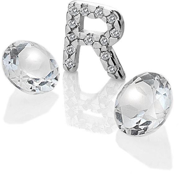 "Hot Diamonds Element písmeno ""R"" s topazy Anais EX237"