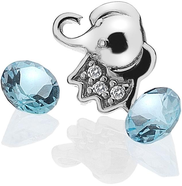 Hot Diamonds Element Slůně s topazy EX098