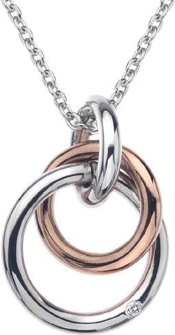 Hot Diamonds Náhrdelník Eternity Interlocking DP373 (retiazka, prívesok)
