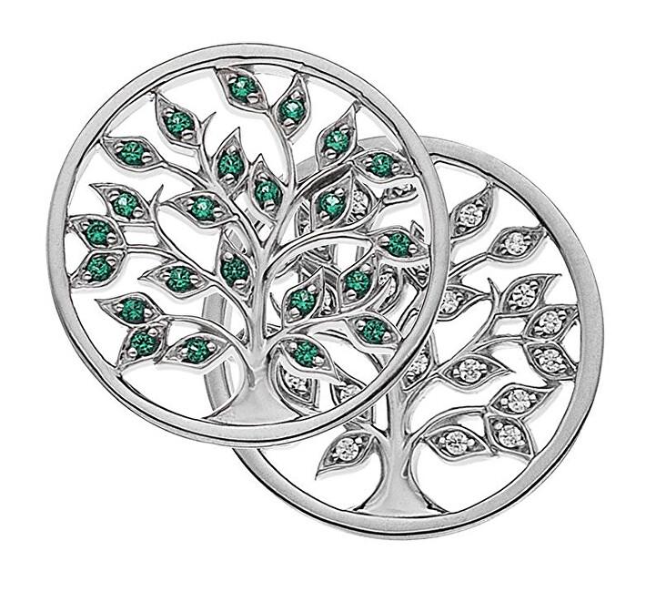Hot Diamonds Prívesok Emozioni Balance and Harmony Nature Coin EC482-EC483 25 mm
