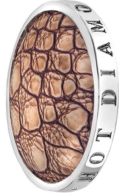 Hot Diamonds Prívesok Emozioni Faux Crocodile Light Brown EC082-EC092 25 mm