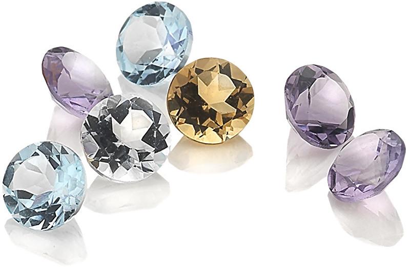 Hot Diamonds Elementy z topazů, ametystů a citrínu Hot Diamonds Anais AG005