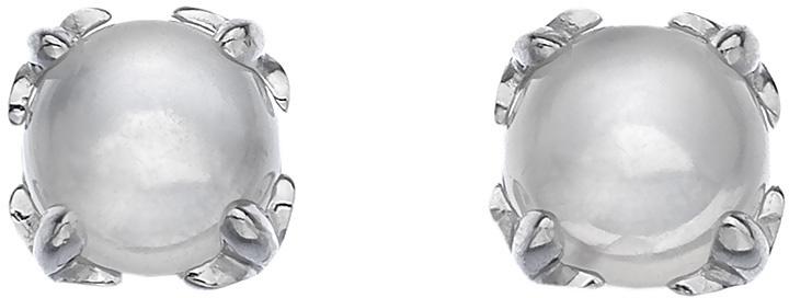 Hot Diamonds Stříbrné náušnice Hot Diamonds Anais měsíční kámen AE006