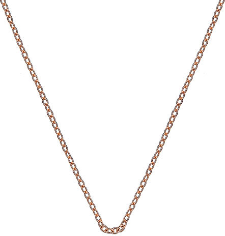 Hot Diamonds Řetízek Emozioni Rose Gold Curb 45 CH022