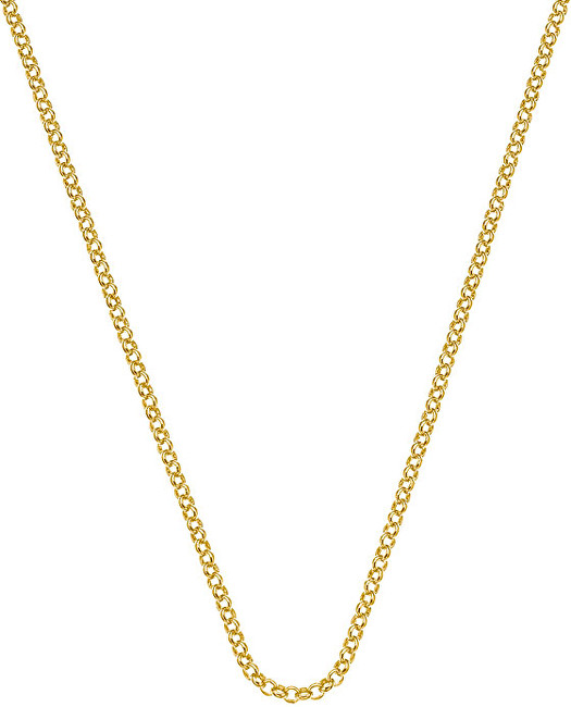 Hot Diamonds Stříbrný řetízek Emozioni Yellow Gold Belcher Chain 30 CH011