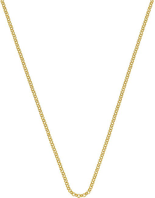 Hot Diamonds Stříbrný řetízek Emozioni Yellow Gold Belcher Chain 35 CH012