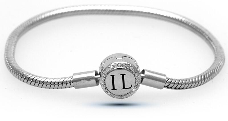Infinity Love Strieborný náramok na korálky a prívesky HC-371-kompatibilný s Pandora 20 cm