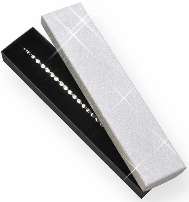 JK Box Darčeková krabička na náramok alebo náhrdelník MG-9 / AG