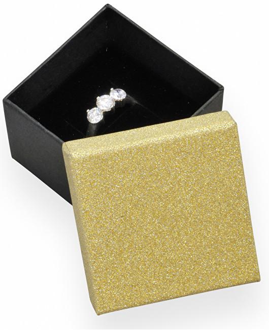 JK Box Darčeková krabička na náušnice a prsteň MG-1 / AU