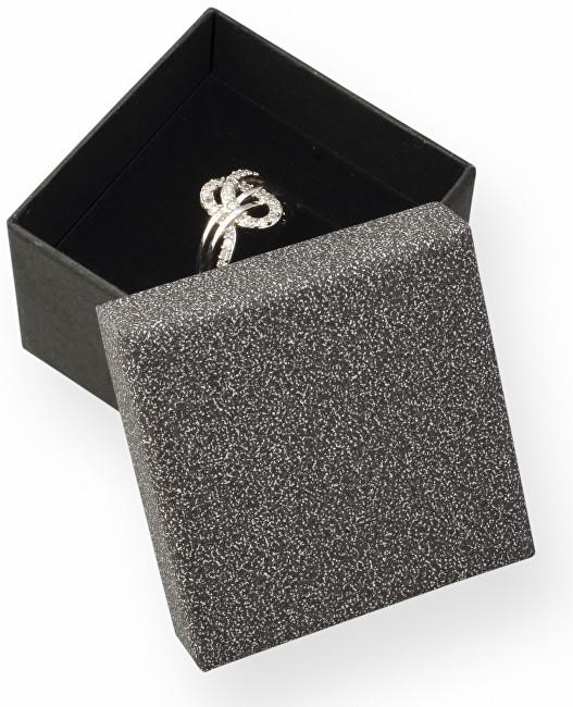 JK Box Elegantná darčeková krabička na prsteň MG-3 / A25