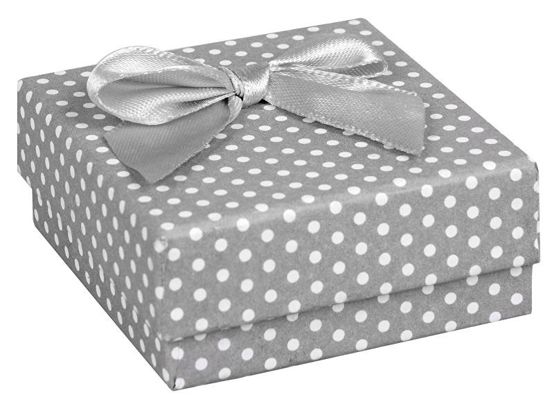 JK Box Puntíkatá krabička na soupravu šperků KK-4/A3