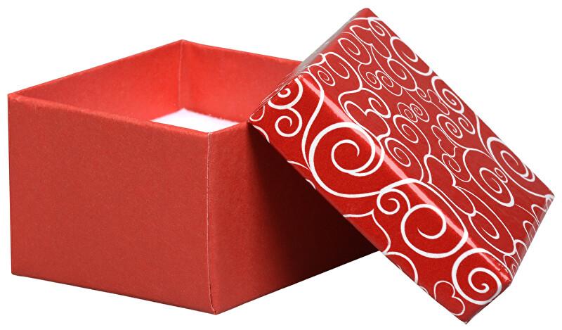 JK Box Romantická darčeková krabička na prsteň VE-3 / A7