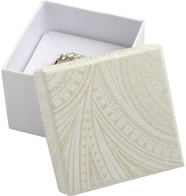 JK Box Darčeková krabička na prsteň alebo náušnice MR-3 / A20