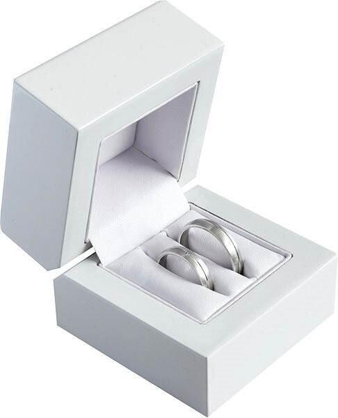 JK Box Darčeková krabička na snubné prstene DD-2 / NA / A1