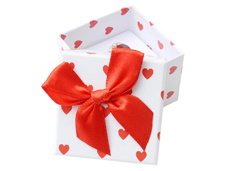 JK Box Darčeková krabička na prsteň alebo náušnice AC-3 / A1
