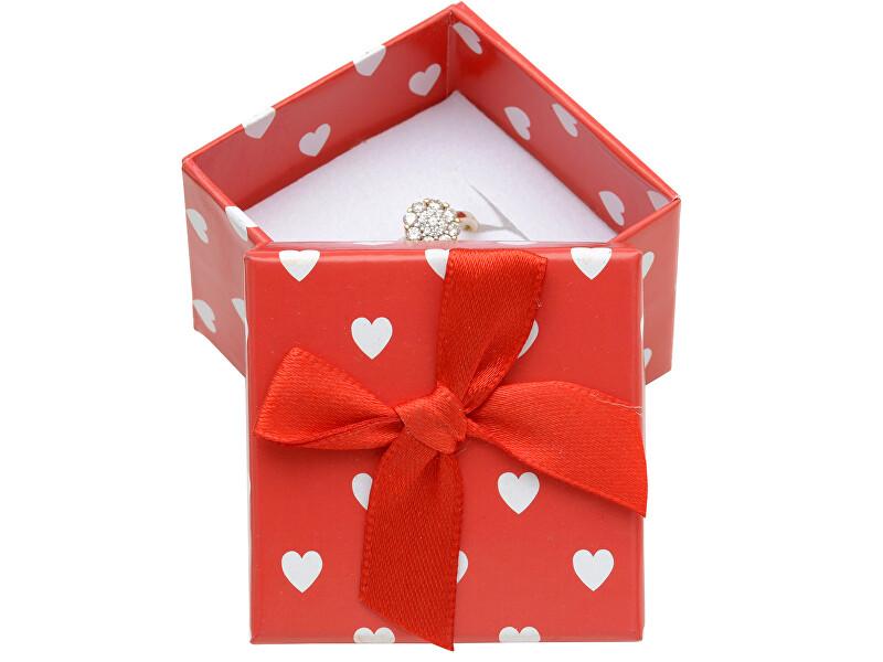 JK Box Darčeková krabička na náušnice alebo prsteň AC-3 / A7