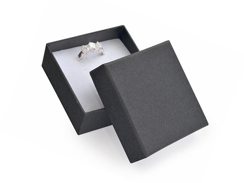 JK Box Elegantná darčeková krabička na prsteň LV-4 / A25