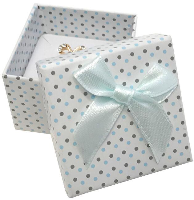 JK Box Puntíkatá krabička na soupravu šperků KK-3/A1/A15