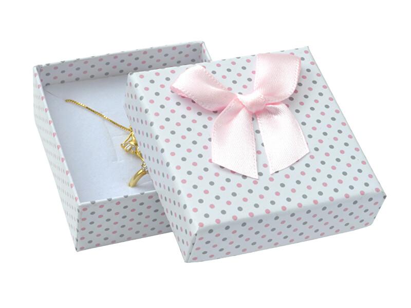 JK Box Puntíkatá krabička na soupravu šperků KK-4/A1/A6