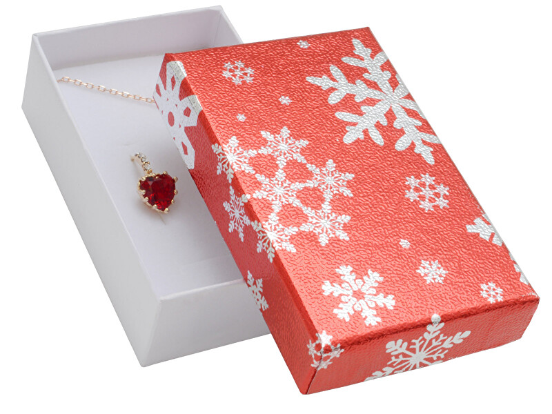 JK Box Vánoční dárková krabička na náušnice XR-6/A7/A1