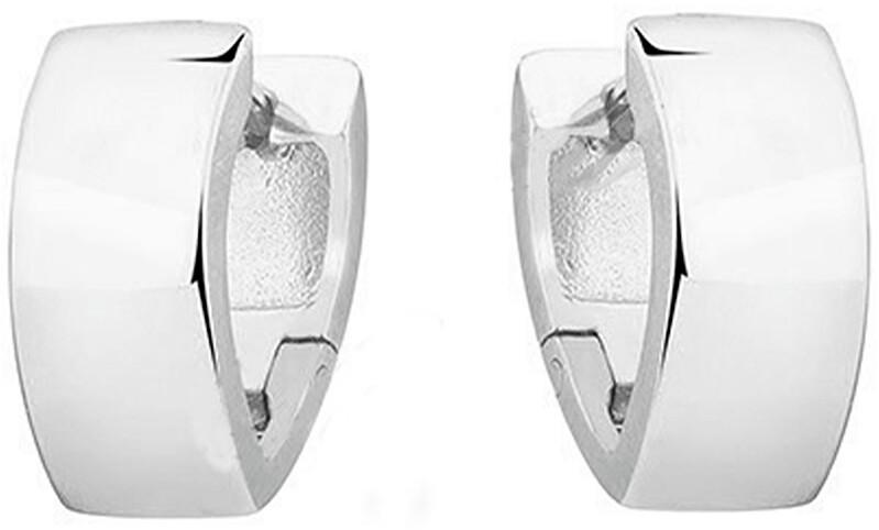 JVD Minimalistické strieborné kruhové náušnice SVLE0682XH20000