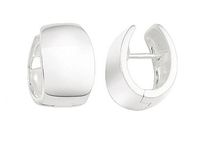 JVD Minimalistické strieborné kruhové náušnice SVLE0962XH20000