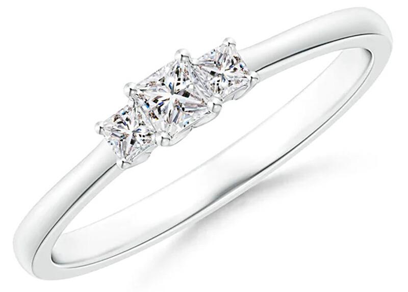 JVD Něžný stříbrný prsten se zirkony SVLR0298XH2BI 62 mm