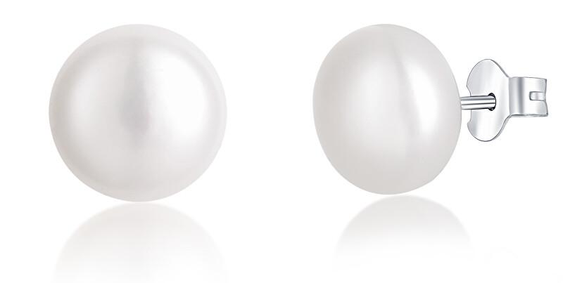 JVD Strieborné náušnice s perlami SVLE0545XD2P1 0,8 cm