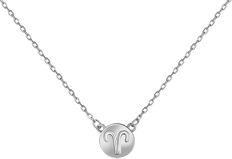 JVD Strieborný náhrdelník s príveskom Baran SVLN0165XF300BE