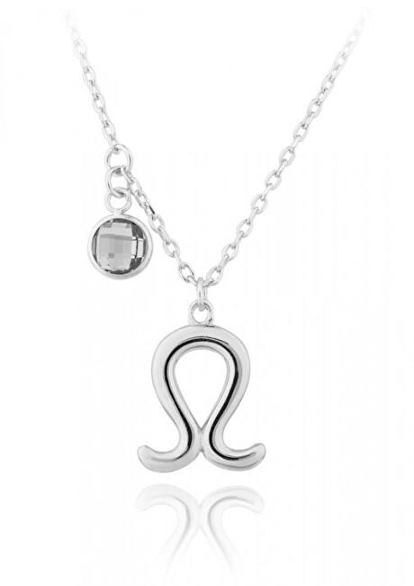 JVD Strieborný náhrdelník s príveskom Lev SVLN0135X6100LE